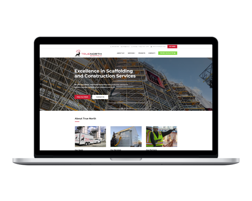 shotsnapp 1610376079.755 We create high-performing websites for the construction industry.